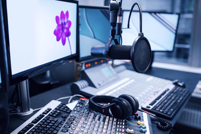 a radio station dj